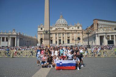 Mladi v Rimu